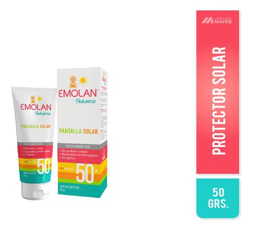 Emolan Pediatrics Fps 50+ Pantalla Solar