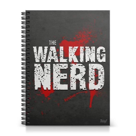Caderno Universitário The Walking Nerd
