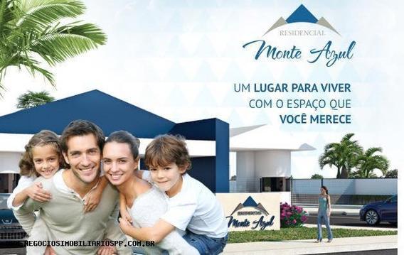 Terreno Em Condomínio Para Venda Em Presidente Prudente, Condomínio Monte Azul - 716582
