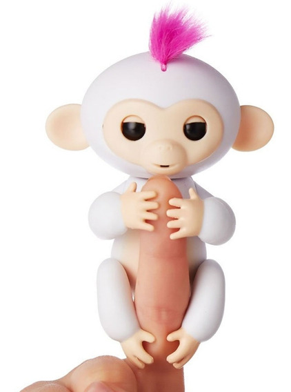 Happy Monkey Baby Fingerlings Juguete Interactivo Sonido