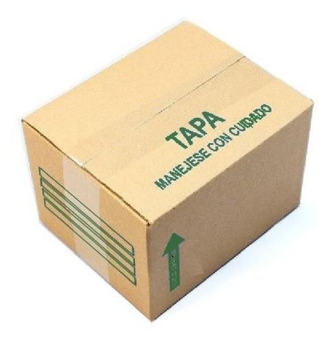 Imagen 1 de 1 de Cajas De Cartón Corrugado Kraft 40x 20x 34cm C17 Pack 50 Pzs