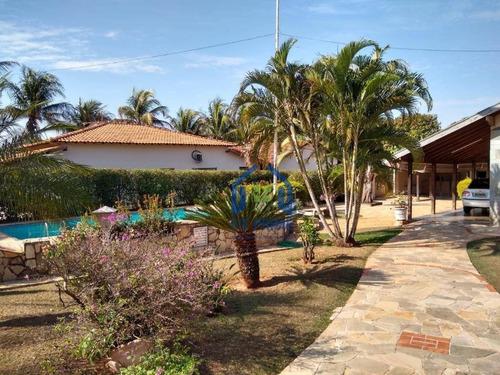 Chácara Com 4 Dormitórios À Venda, 1700 M² Por R$ 950.000,00 - Monte Carlo - Guapiaçu/sp - Ch0211