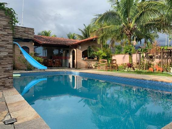 Casa Em Morada Praia, Bertioga/sp De 170m² 5 Quartos À Venda Por R$ 580.000,00 - Ca242635