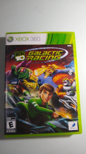 Ben 10 Galactic Racing Xbox 360 Lenny Star Games