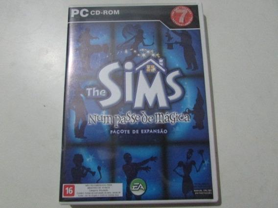 R/m - Jogo Pc - Dvd Rom - The Sims Num Passe De Magica