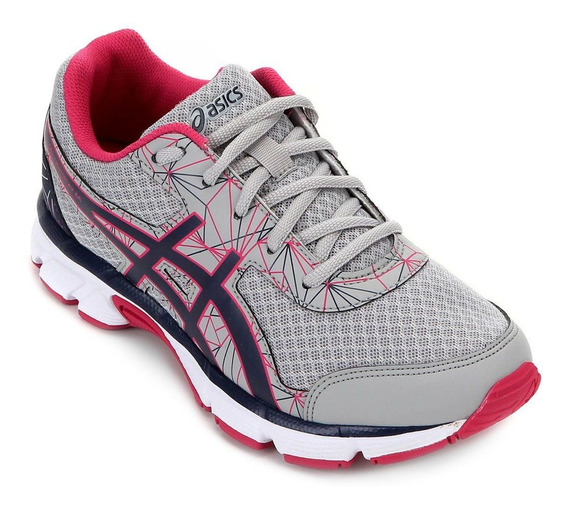 Tenis Asics Infantil Gel Light Play 4 A Gs Cinza - Original