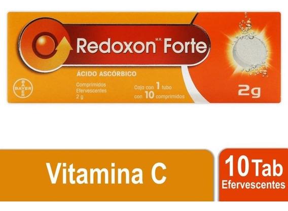 Redoxon Forte Vitamina C 2g 10 Tabletas Efervescentes