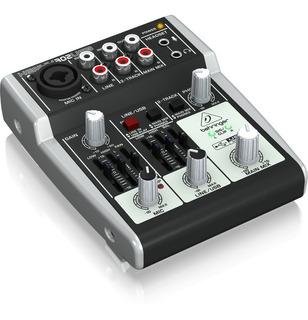 Consola Behringer Xenyx 302usb Grabación Ideal Radio Podcast