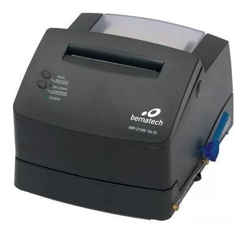Impressora Fiscal Termica Bematech Mp-2100 Usada