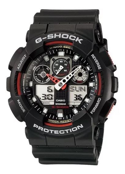 Relógio Masculino Esportivo Casio Gshock Ga-100 Original.