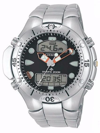 Relógio Citizen Aqualand Jp1060-52e - Tz10020d Nota Fiscal