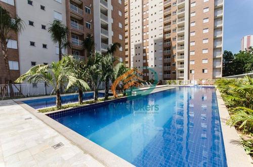 Apartamento Com 2 Dormitórios À Venda, 58 M² Por R$ 350.000,00 - Bosque Maia - Guarulhos/sp - Ap0145