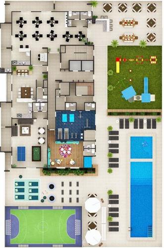 Imagem 1 de 23 de Apartamento - Venda - Tupi - Praia Grande - Dna1371