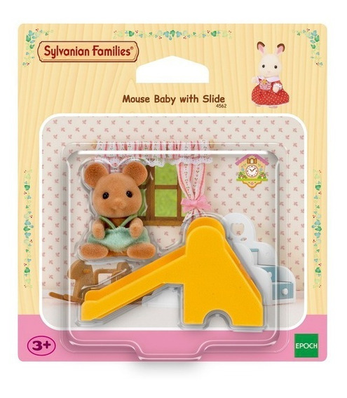 Sylvanian Families - Mouse Baby W Tricycle (4562)