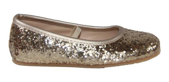 Chatita Pians Glitter Dorado Del 20 Al 26