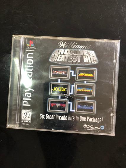 Game Arcade Gratest Hits Original Ps1 Psx Original