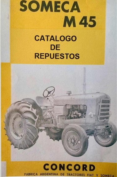 Manual De Repuestos Tractor Fiat Someca M45