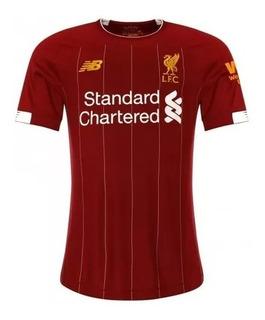 Camiseta Camisa Liverpool Futebol Inglês 2020 Pronta Entrega