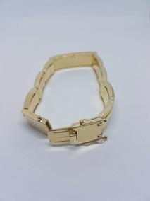 Bracelete De Ouro 18.750 K - 23cm 65 Gramas