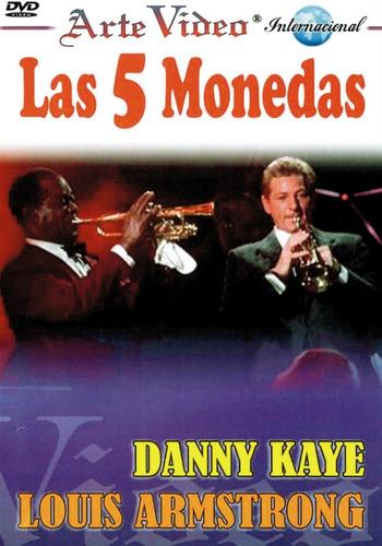 Imagen 1 de 1 de Las 5 Monedas - Danny Kaye - Louis Armstrong