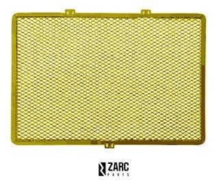 Protetor Radiador Bmw G310 R / G310 Gs / Gs310 Dourada Zarc