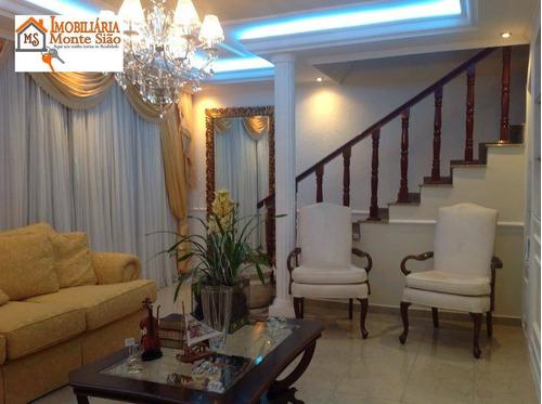 Casa Com 4 Dormitórios À Venda, 250 M² Por R$ 810.000,00 - Jardim São Francisco - Guarulhos/sp - Ca0301