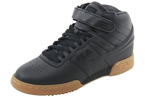 Fila Zapatos De F13 Hightop Zapatillas Negro Para Hombre