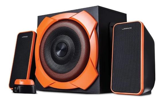 Caixa Som Pc Gamer 50w Rms 2.1 Super Bass Aux P2 Sp266