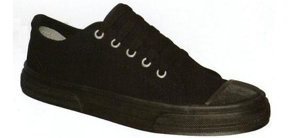 Zapatillas De Lona Con Puntera Hasta Talle 45
