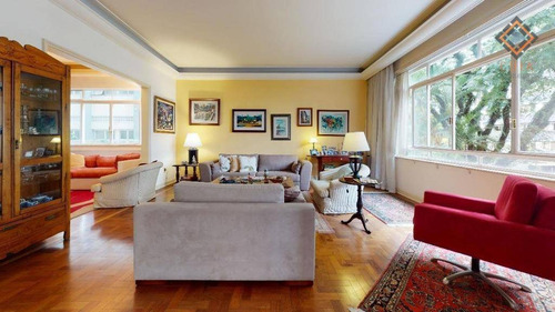 Imagem 1 de 27 de Apartamento Com 4 Dormitórios À Venda, 289 M² Por R$ 2.650.000 - Higienópolis - São Paulo/sp - Ap53257