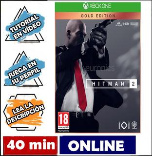 Hitman 2 Oro Gold Xbox One Online