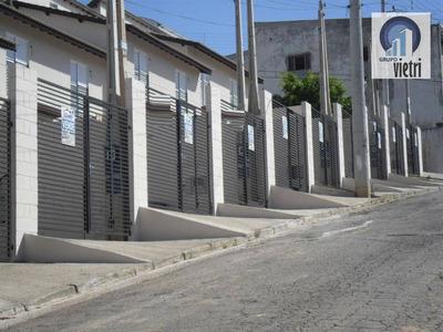 Sobrado Novo Em Caieiras, Ótima Localização Em Área Com Muito Verde Com Fá - So1242