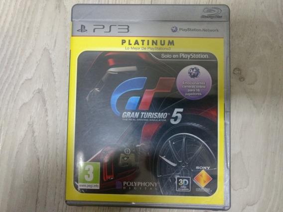 Jogo Ps3 Gran Turismo 5 Platinum Mídia Física