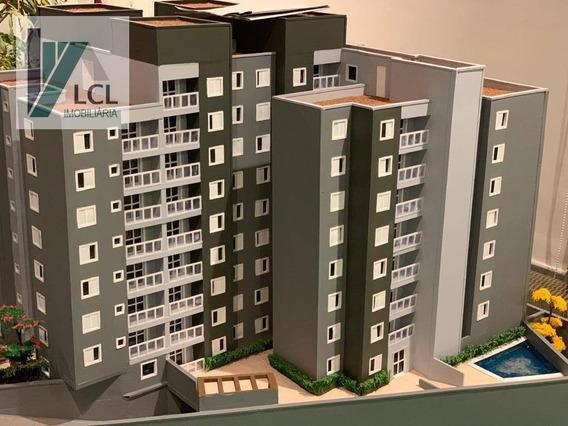 Apartamento Com 2 Dormitórios À Venda, 56 M² Por R$ 256.000,00 - Parque Assunção - Taboão Da Serra/sp - Ap0005