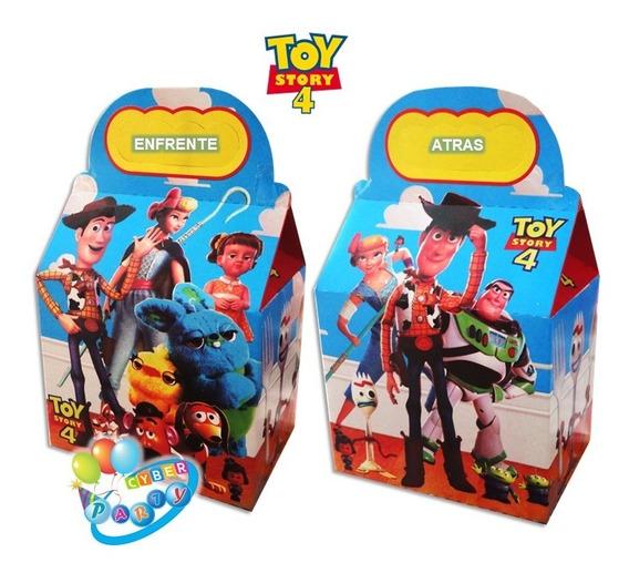 Toy Story 50 Cajas Dulceras Fiesta Forky Woody Buzz Bolo