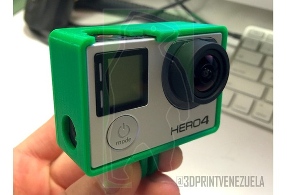 Accesorio Case Frame Gopro Hero 3 4 5 6 Y Session