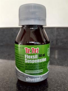 Floxsil 50 Ml Suspensión. Para Perros Y Gatos Antibacteriano