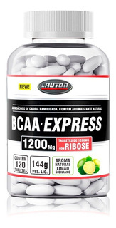 Bcaa Express 1200mg 120 Caps - Lauton Nutrition