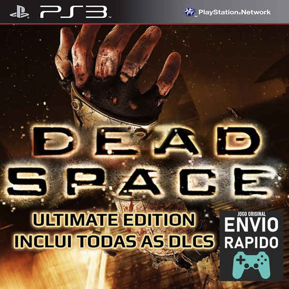 Dead Space 1 Ultimate + Todas As Dlcs Jogos Ps3 Original