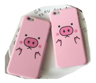 Puerquito iPhone 8 Plus Funda Carcasa Cerdito Kawaii Pig E.g