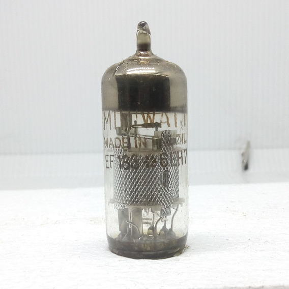 Válvula Eletrônica Ef183 6eh7 Miniwatt Amplificadora
