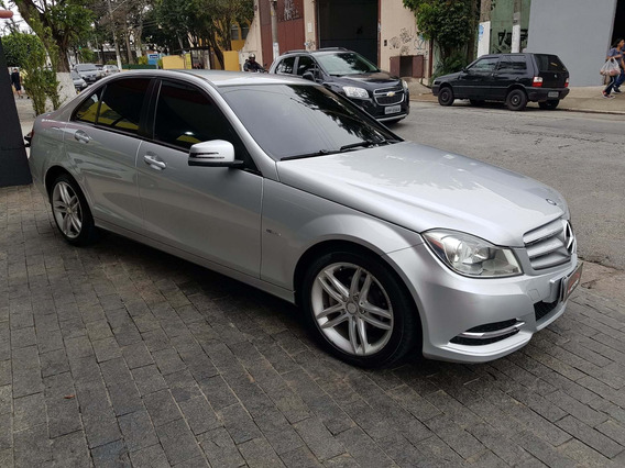 Mercedes-benz C180 Ano 2012 1.6 Cgi Turbo Oportunidade