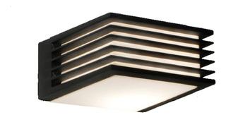 Lámpara de pared Faroluz 4314 negra 220V 1 unidad