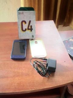 Teléfono Blu-c4 Android-81-512 Ram 8gb Dual Sim 5mp Cámara