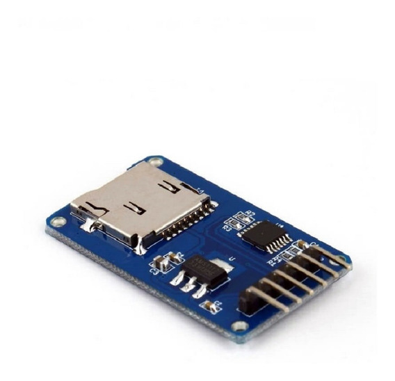 Módulo Adaptador Micro Sd Para Arduino