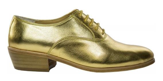 1 Sapato Social Masculino Luxo Dourado Dança Cantor Pastor
