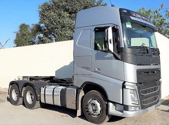Volvo Fh 540 6x4 Canelinha 2019 C/ 65.000 Km