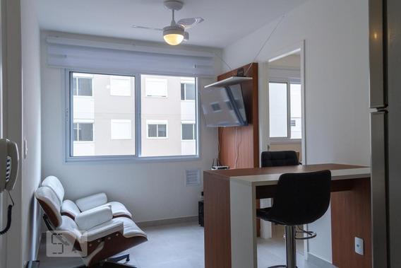 Apartamento No 5º Andar Mobiliado Com 2 Dormitórios - Id: 892989219 - 289219
