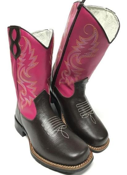 Bota Texana Feminina Rodeio Lida No Campo E Dia A Dia