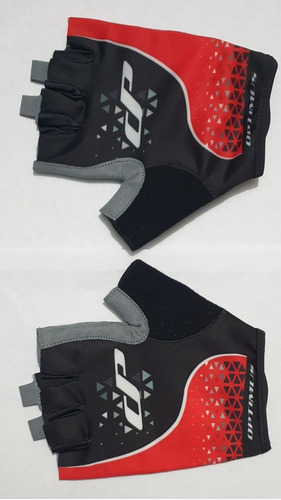 Guantes Optimus Ciclismo Color Blacl-red.